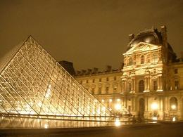 Photo of Paris Paris Bike Tour The Louvre at Night