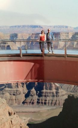 Photo of Las Vegas Grand Canyon West Rim Air and Ground Day Trip from Las Vegas with Optional Skywalk The Skywalk