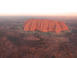 Uluru from the air. , Kevin F - June 2014