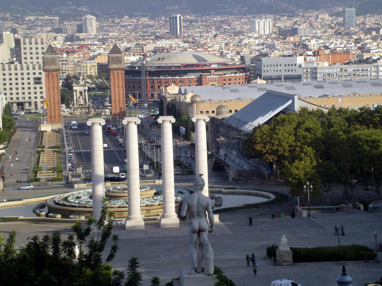 View of Barcelona from Mont Juic - Barcelona