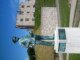Photo of   Admiral Ramsay at Dover Castle