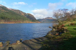 First loch we saw in the morning , janet b - March 2014