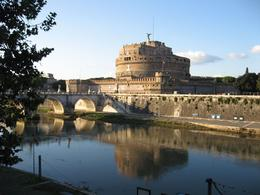 Photo of Rome Catacombs and Roman Countryside Half-Day Walking Tour Castle St Angelo