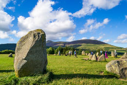 The amazing Casterligg Stone Circle, HTravelerUK - January 2014
