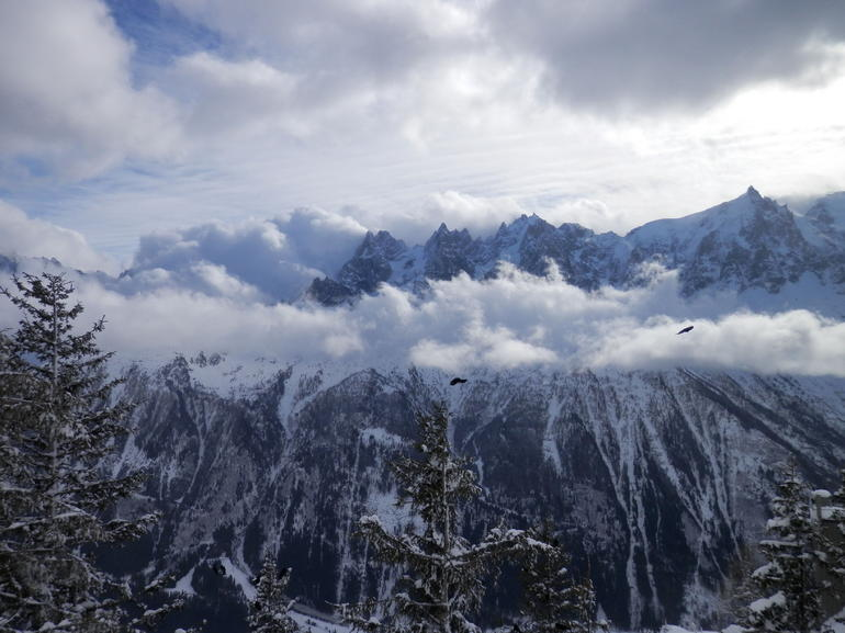 Chamonix on a cold and windy day! - Geneva