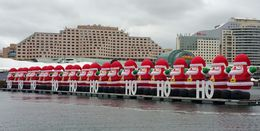 Santas in the Harbor. , Timothy H - February 2015