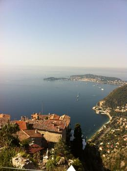 Beautiful scenic shot from the top of the Eze Medieval vilage , Lynette H - August 2013
