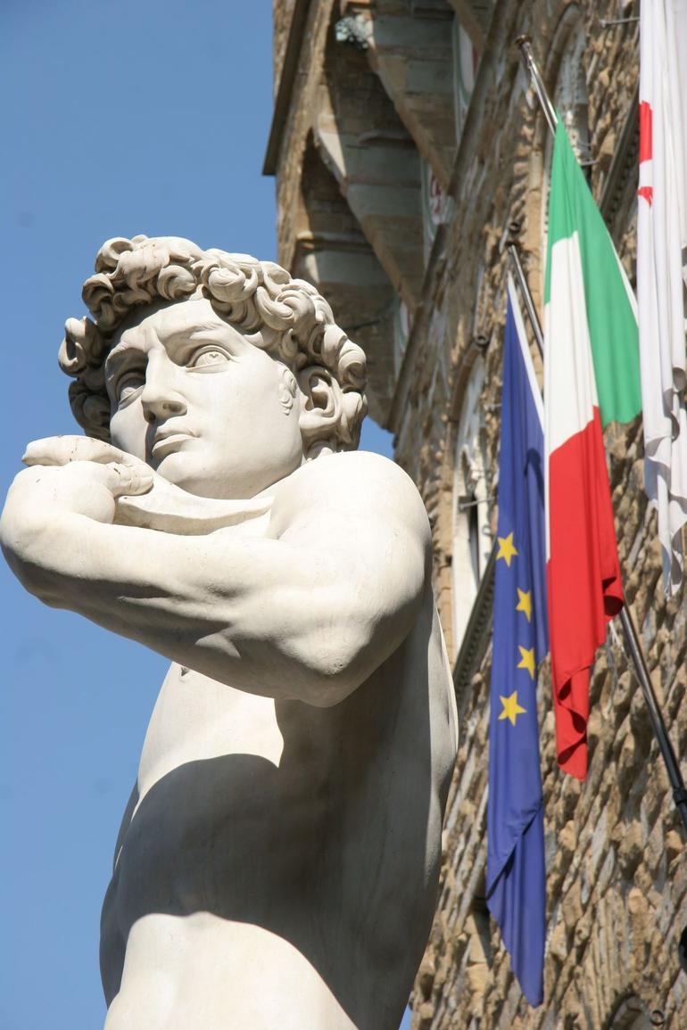 David in Florence, Italy - Rome