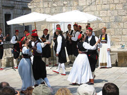 Photo of Dubrovnik Cilipi Folklore Tour from Dubrovnik Folk dancers in Cilipi, Croatia