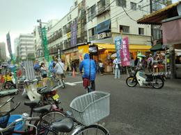 Photo of   Food Street at Tsujiki Fish Market
