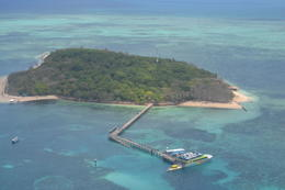 Aerial Photo of Green Island! , Nini - November 2012