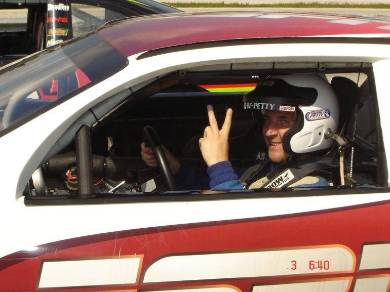 In the Car -- Peace Out! -