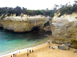 The last stop on the Great Ocean Road tour! It was beautiful, and pictures don't do it justice. , Nur Mirrah A - June 2015