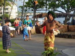 Photo of Big Island of Hawaii Lava Legends and Legacies Luau on the Big Island male dancer