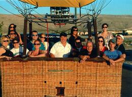 Photo of Las Vegas Las Vegas Sunrise Hot Air Balloon Ride Our group