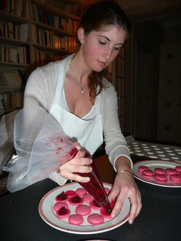 Learn How To Make French Macaroons in Paris - March 2012