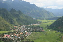 Beautiful Mai Chau village, Bing - April 2013