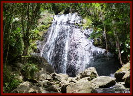 Photo of San Juan El Yunque Rainforest Half-Day Trip from San Juan The big waterfall.