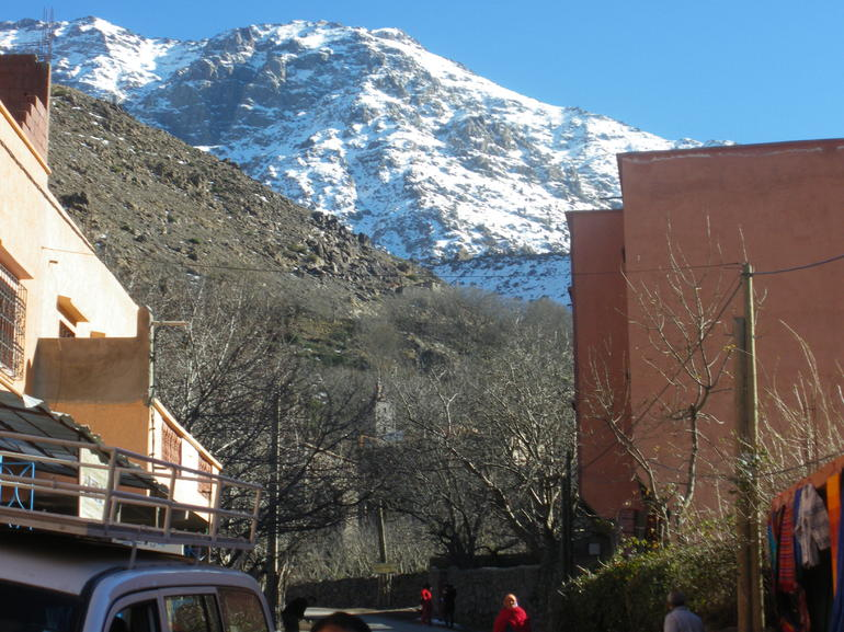 the high atlas mountains - Marrakech