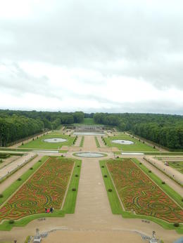 Photo of Paris Chateaux de Fontainebleau and Vaux le Vicomte Day Trip from Paris view from the dome of Vicomte