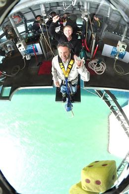 On the Aukland harbour bridge jump, Corey said the closer he got to the edge, the less scared he was! - June 2010