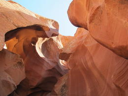 Photo of Sedona & Flagstaff Antelope Canyon and Glen Canyon Scenic Tour Another view from inside tthe canyon