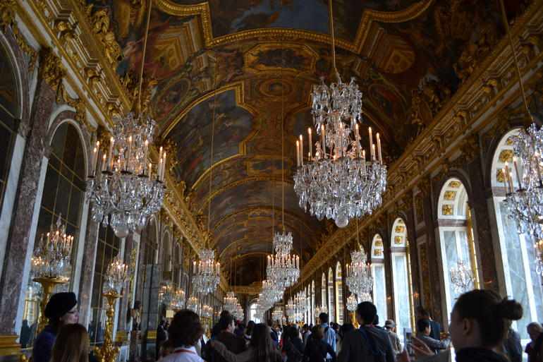 Beautiful Room of Mirrors - Paris