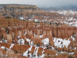 We got some great shots of the snow covered Canyon. , Helen K - December 2013