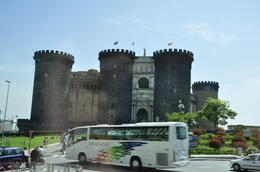 Photo of Rome Naples and Pompeii Day Trip from Rome Castillo Napolitano