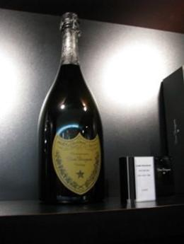 Bottle of Dom Perignon for sale in the Moet & Chandon store, Bruce J - October 2009