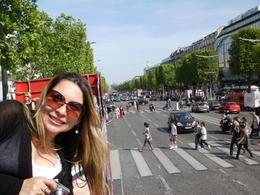 At the hop on hop off bus, Paris! Quite nice, huh?, Ana Carolina M - May 2010