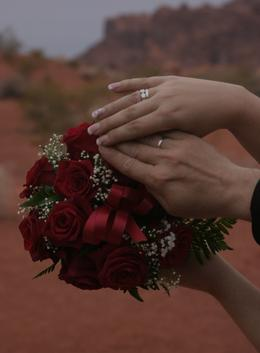 Photo of Las Vegas Valley of Fire Wedding by Private Limousine eine super idee...