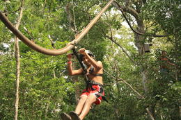 Photo of Cancun 4-in-1 Tulum Adventure: Zipline, Cavern Rappel, Cave Snorkel and Skycycle IMG_5374