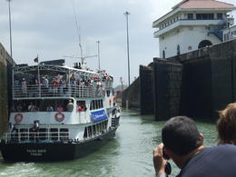 Photo of Panama City Panama Canal Partial Transit Sightseeing Cruise Inside the locks