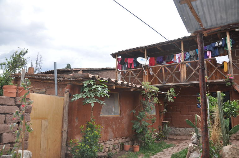 Local house we stopped by. - Cusco