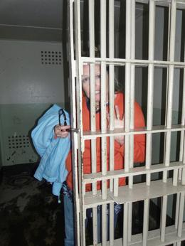 Tried to lock the wife in at Alcatraz (she was the one that escaped)., Stephen M - May 2010