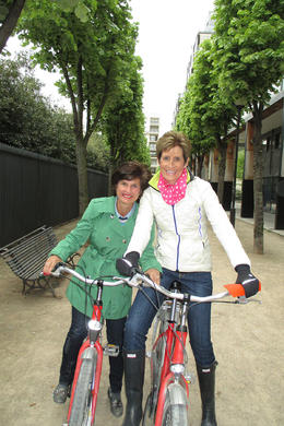 Picking out our bikes for a FUN daytime tour of Paris! , Kristin C - May 2013