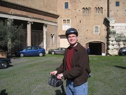 My buddy on a Segway. He had never experienced one before the tour, and learned how to navigate comfortably in about 15 minutes. - March 2010