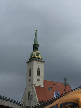 Beautiful church with lots of history, located easily walkable from the town center in Bratislava. , Wombat - April 2016