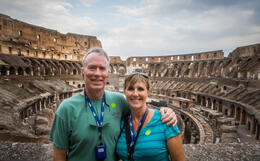 Photo of Rome Ancient Rome and Colosseum Tour: Underground Chambers, Arena and Upper Tier The Colosseum - Bucket List item Checked off!