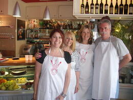 Photo of Rome Rome Walking Tour and Cooking Class The cooks