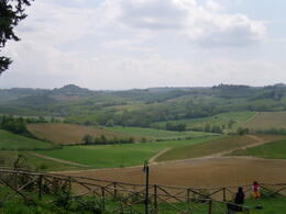 Photo of Florence Tuscany in One Day Sightseeing Tour View from Fram at Chianti