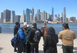 Photo of New York City Manhattan to Brooklyn NYC Walking Tour: Brooklyn Bridge and Dumbo View of Manattan from Brooklyn