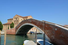 Photo of Venice Murano, Burano and Torcello Half-Day Sightseeing Tour Bridge to San Donato Church