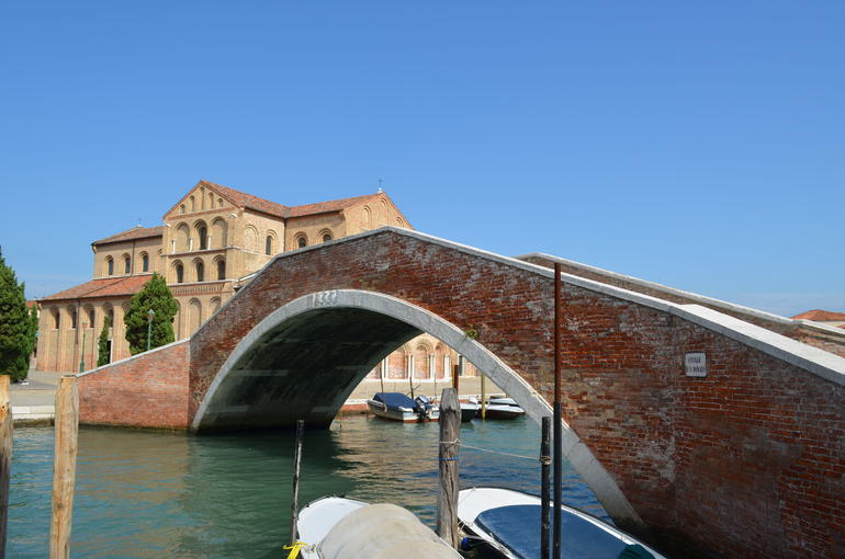 Bridge to San Donato Church - Venice
