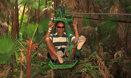 Photo of Cancun 4-in-1 Tulum Adventure: Zipline, Cavern Rappel, Cave Snorkel and Skycycle IMG_5437