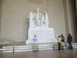 Photo of New York City Washington DC Day Trip from New York lincoln memorial
