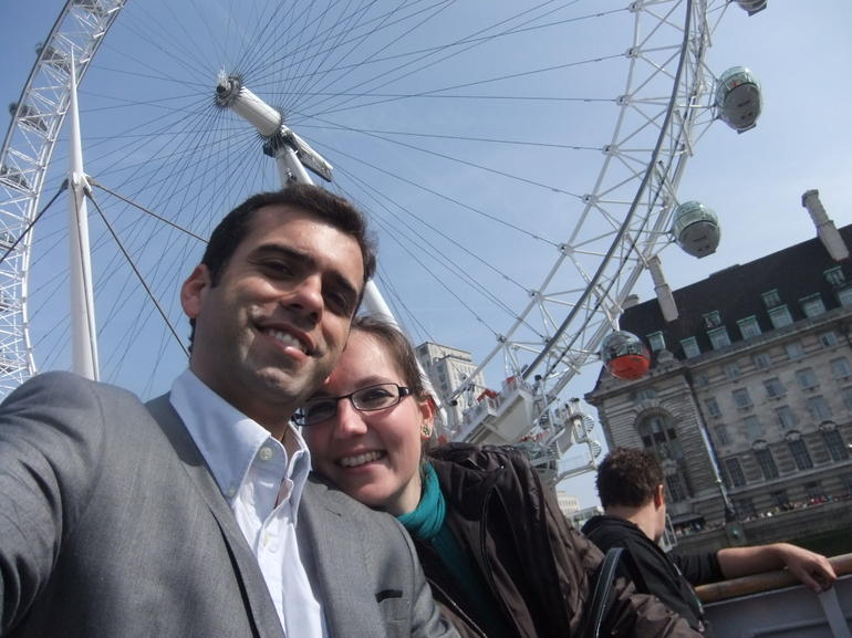 London Eye, here we go!