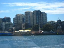 Right by the Sydney Bridge! - March 2010