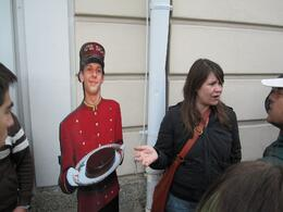 Photo of Munich Salzburg Small Group Day Tour from Munich Our guide lets us stop for chocolate